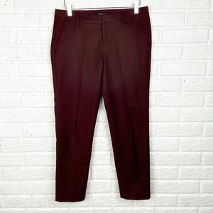 LIVERPOOL Pant with stretch & sheen | Zinfandel